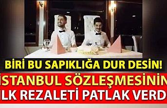 Türkiye'de gerçekleştirilen ilk sapkın evliliğin görüntüleri paylaşıldı!