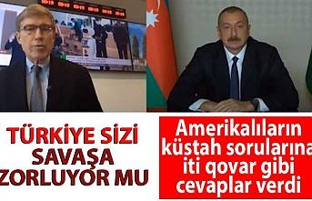Aliyev: Türkiye'nin yanımızda olmasından gurur duyuyoruz