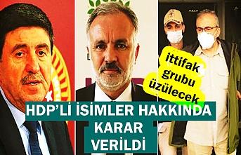 Altan Tan, Sırrı Süreyya Önder ve Ayhan Bilgen hakkında karar verildi