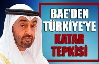 BAE'den Türkiye'ye Katar tepkisi