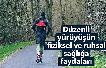Düzenli yürüyüşün 'fiziksel ve ruhsal' sağlığa faydaları