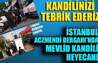 İstanbul Aczmendi Dergahı'nda  Mevlid Kandili