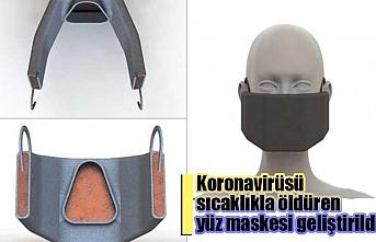 Koronavirüsü sıcaklıkla öldüren yüz maskesi geliştirildi