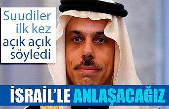 Suudi Arabistan: İsrail'le normalleşmenin olacağını tasavvur ediyoruz