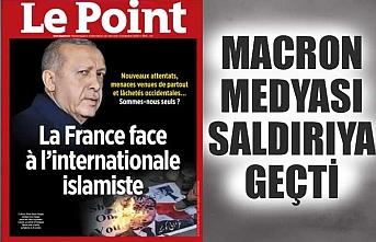 Fransa'nın Türkiye düşmanlığı dergi kapağına taşındı