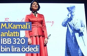 İBB'den Pınar Ayhan'a 320 bin liralık 'Atatürk' ödemesi