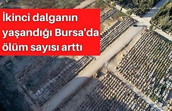 İkinci dalganın yaşandığı Bursa'da ölüm sayısı arttı