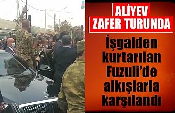 İlham Aliyev'den işgalden kurtarılan Fuzuli'ye 27 yıl sonra ilk ziyaret