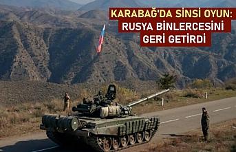 Karabağ'da sinsi oyun: Rusya, binlerce Ermeni'yi geri getirdi