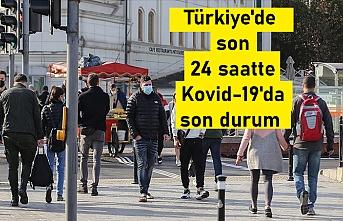 Türkiye'de son 24 saatte Kovid-19'dan 116 kişi hayatını kaybetti