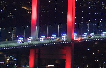 Ankara'dan İstanbul'a 61 ambulans geldi