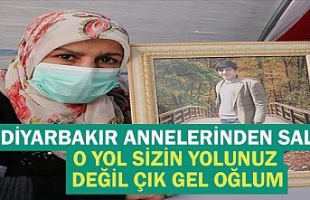 Diyarbakır annelerinden Salim: O yol sizin yolunuz değil çık gel oğlum