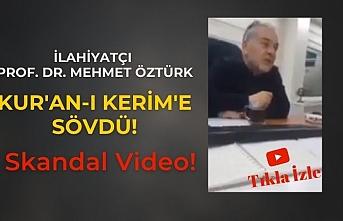"""İlahiyatçı Prof. Dr. Mustafa Öztürk: """"Kur'an-ı Kerim Allah kelamı değildir!"""""""
