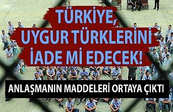 Türkiye, Uygur Türklerini iade mi edecek! Anlaşmanın maddeleri ortaya çıktı