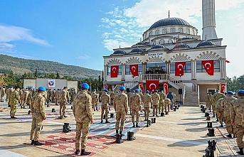 İçişleri Bakanı Süleyman Soylu, komando okulunda yapılan caminin açılışını yaptı: Allah'ın evini burada yaptılar