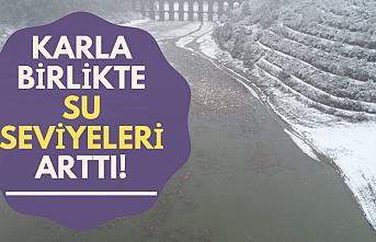 İstanbul'da barajların doluluk oranı yüzde 30'u geçti