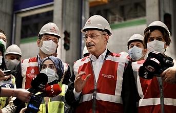 Kılıçdaroğlu'nun ziyareti sırasında tepki çeken kare!