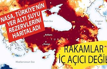 NASA, Türkiye'nin yer altı suyu rezervlerini haritaladı