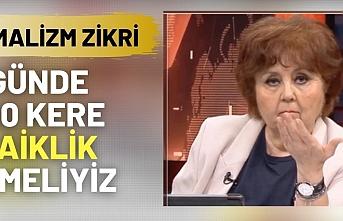 Ayşenur Arslan'ın 'laiklik çıkışı' olay oldu