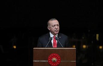 Cumhurbaşkanı Erdoğan: 'Dünya Dili Türkçe' adıyla bir seferberlik ilan ediyoruz