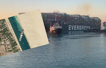 Süveyş Kanalı'nı kapatan gemi yüzdürüldü