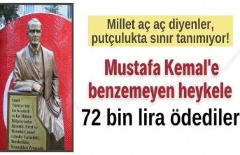 CHP'li İzmit Belediyesi'nden heykellere 72 bin TL
