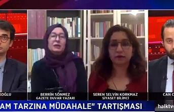 CHP'nin kanalı Halk TV'de Berrin Sönmez'den skandal sözler: İçki haram değildir