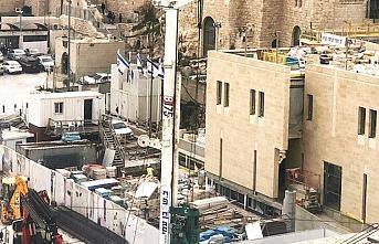 İsrail Mescid-i Aksa'nın altını oyuyor!