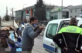 Sokağa çıkma kısıtlamasını ihlal eden kağıt toplayıcısına kesilen ceza vicdanları sızlattı