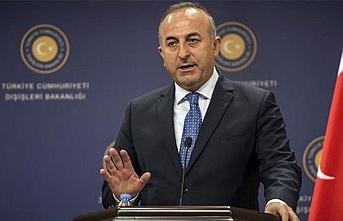 Bakan Çavuşoğlu: Filistin'de yaşananları hep böyle kınıyoruz ama ümmet adım atmamızı bekliyor