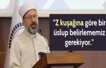Diyanet İşleri Başkanı Ali Erbaş'tan Z kuşağı çıkışı