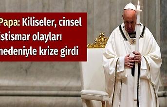 Papa: Kiliseler, cinsel istismar olayları nedeniyle krize girdi