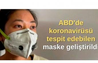 ABD'de koronavirüsü tespit edebilen maske geliştirildi
