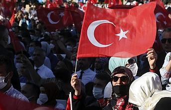 Cumhurbaşkanı Erdoğan: FETÖ'cüler karşımıza dikilseydi şehadete yürüyecektim