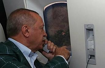Cumhurbaşkanı Erdoğan afet bölgesine gidiyor