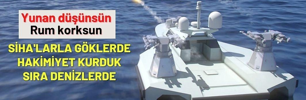 Mavi Vatan'a 2 yeni insansız deniz aracı