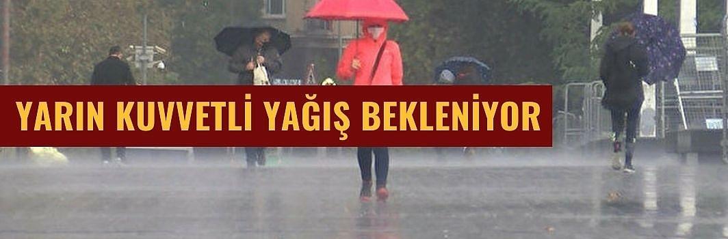 Orta ve Doğu Karadeniz'de yarın kuvvetli yağış bekleniyor