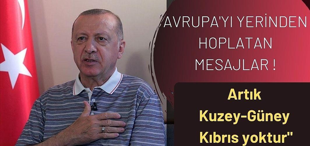 Cumhurbaşkanı Erdoğan: Kıbrıs Türk Devleti'nin tanınması için gayret sergileyeceğiz