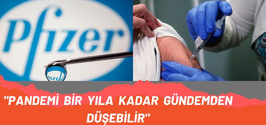 Pfizer CEO'su Albert Bourla koronavirüsün bitişi için tarih verdi!