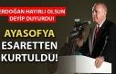 Başkan Erdoğan'dan 'Ayasofya' açıklaması!...