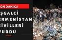Azerbaycan'da Ermenistan'ın saldırılarında...