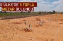 Libya'nın Terhune kentinde beş yeni toplu mezar...