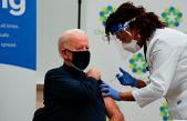ABD'de başkan seçilen Joe Biden, koronavirüs aşısı oldu