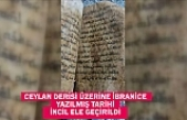 Gaziantep'te ceylan derisi üzerine İbranice yazılmış tarihi İncil ele geçirildi