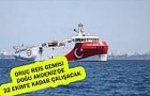 Oruç Reis gemisi Doğu Akdeniz'de 22 Ekim'e kadar çalışacak