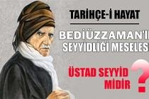 BEDİÜZZAMAN'IN SEYYİDLİĞİ MESELESİ