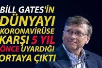 Bill Gates'in dünyayı koronavirüse karşı 5 yıl önce uyardığı ortaya çıktı