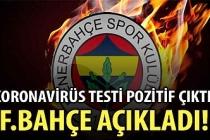 Fenerbahçe'de iki koronavirüs tespiti!