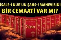 Risale-i Nur'un şahs-ı mânevîsinin bir cemaati var mı?