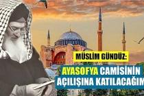"""Müslim Gündüz Efendi:""""Ayasofya Camisinin açılışına katılacağım"""""""